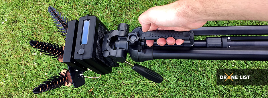 RSSI Pro Track attached to my tripod